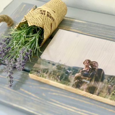 Создайте свое воспоминание наяву! Печать фото на дереве!