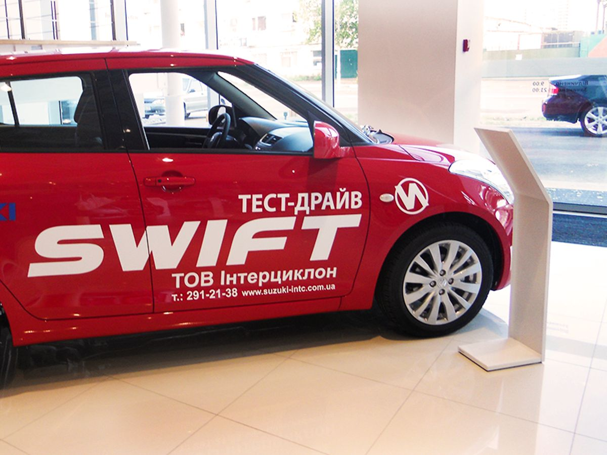 Оклейка тестовых авто для компании Интерцеклон