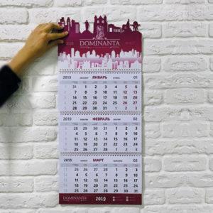 Эксклюзивный календарь Силуэт