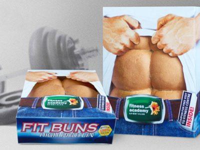 Дизайн упаковки хлеба с высоким содержанием белка