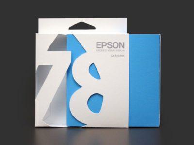 Уникальный дизайн для картриджей компании Epson
