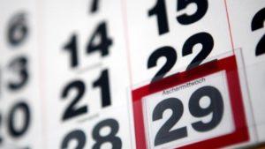 Високосный год в календаре