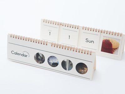Настольный календарь с 4-мя сетками (число, месяц, день недели, ваши фото)