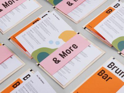 Печать красивых сборных меню для ресторанов