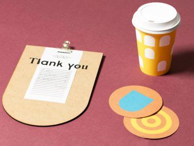 Создание брендированных счетниц для ресторанов и кафе