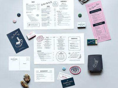 """Изготовление полного комплекта (""""под ключ"""") полиграфической продукции для ресторана или кафе"""