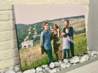 Печатаем Ваше фото на холсте