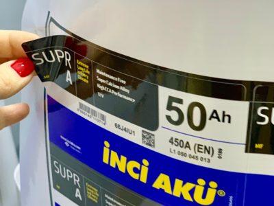 Изготовление наклеек на производственную продукцию