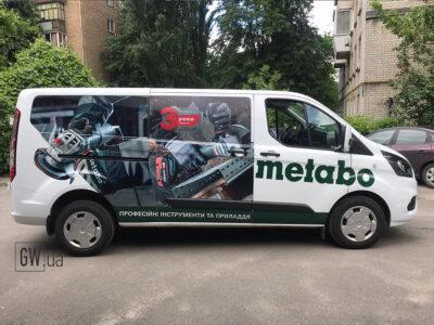 поклейка авто метабо